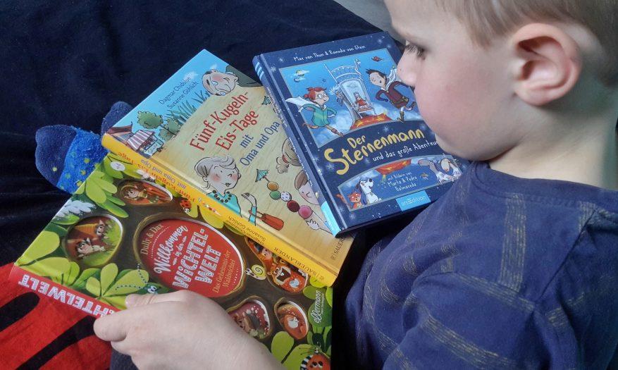 Kinder-Vorlesespaß für abenteuerlustige Kinder
